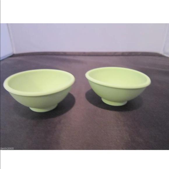 ❤️3/$30 Princess House Sili Pinch/Salt Bowls 2 NIP